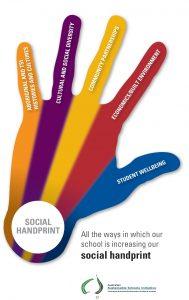 SSWA handprint logo