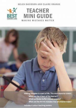 BEST Teacher Mini-Guide - Making Mistakes Matter