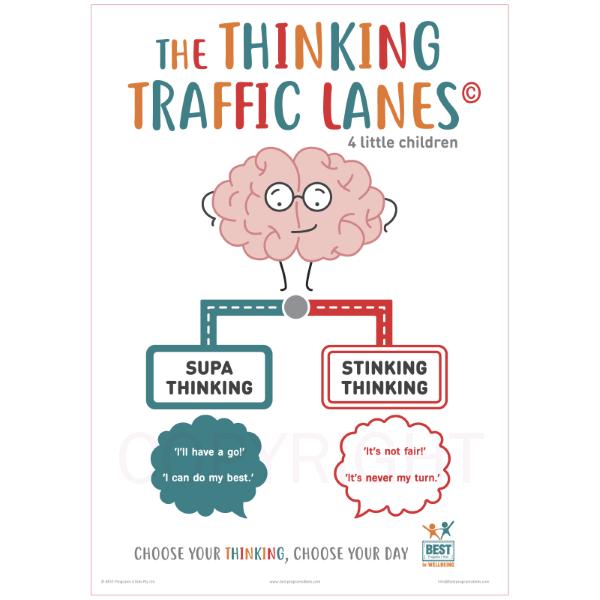 The Thinking Traffic Lanes - Little Kids